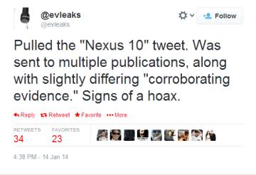 @evleaks nakonec tweet stáhl