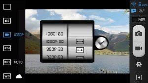 DJI Vision rozlišení videa