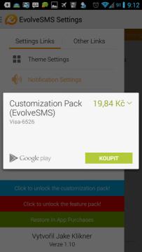 Customization Pack za 19,84 Kč