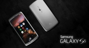 Jeden z mnoha konceptů Samsungu Galaxy S5