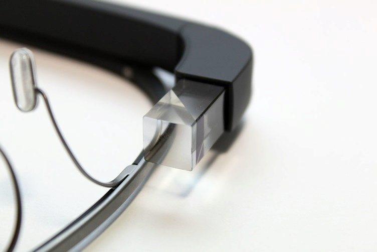Google Glass projektor