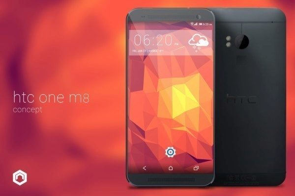 Koncept HTC One 2 (M8) Nikolaie Prettnera