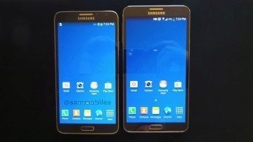 Galaxy Note 3 Neo (vlevo) vs. Galaxy Note 3 (vpravo)