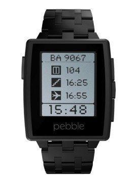 Pebble Steel černé