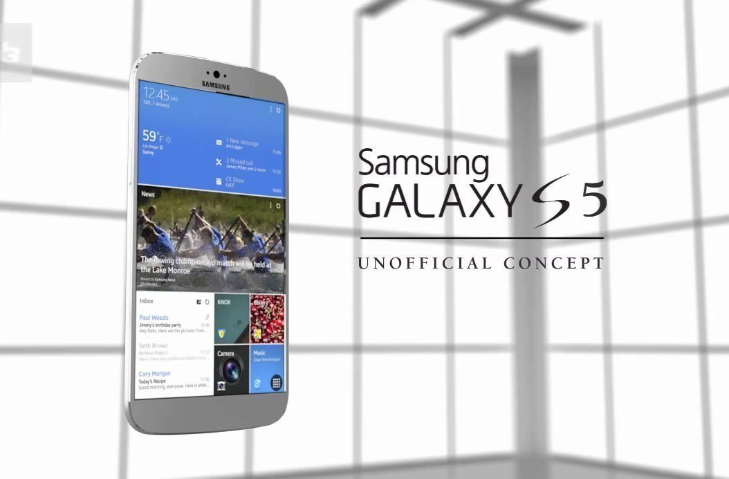 Koncept Samsungu Galaxy S5 z dílny T3