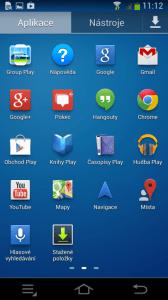 Samsung Galaxy NX - aplikace 2