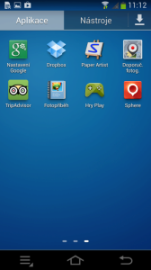 Samsung Galaxy NX - aplikace 3