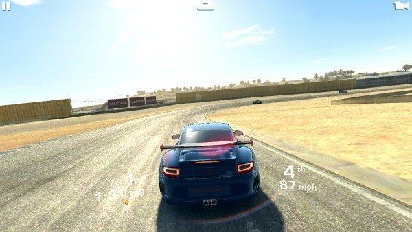 Samsung Galaxy NX - real racing 3