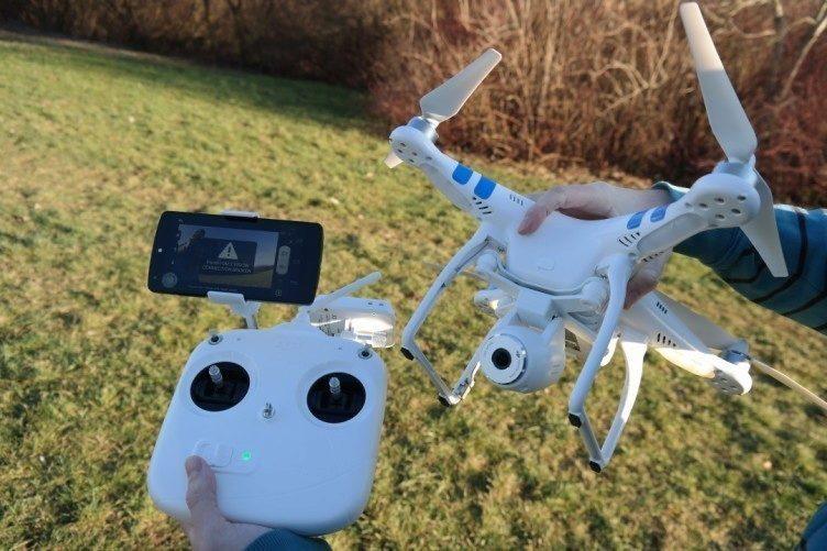 DJI Phantom, Android drony