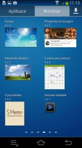 Samsung Galaxy NX - widget 4