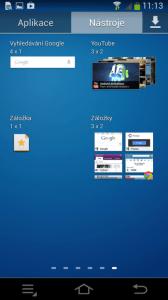 Samsung Galaxy NX - widget 6