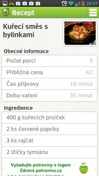 NutriAtlas - recepty