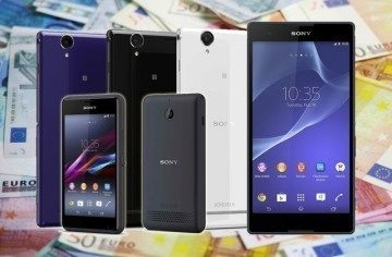 Kolik budou stát nové telefony Sony Xperia E1 a Xperia T2 Ultra?