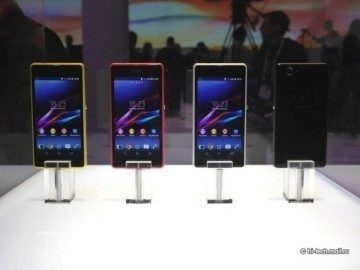 Sony Xperia Z1 Compact na veletrhu CES