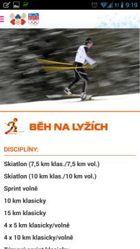 ZOH 2014: informace o sportovní disciplíně