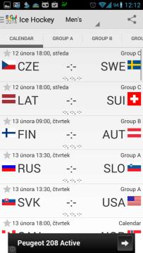2014 Sochi Winter Games: informace o ledním hokeji