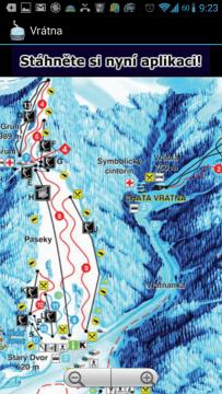 Ski TrailMaps: detail mapy