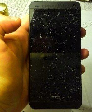 HTC vymění zdarma rozbitý displej telefonů řady One