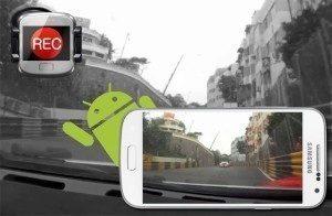 Telefon jako kameru do auta můžete používat s řadou aplikací