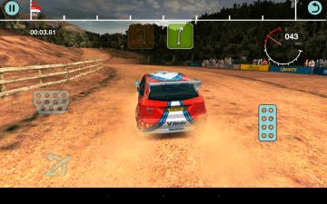 Colin McRae Rally - akcelerometr