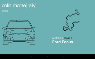 Colin McRae Rally - načítání
