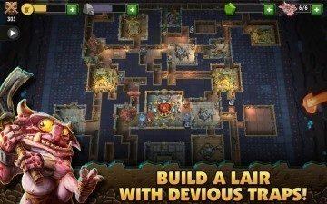 dungeon keeper stavby