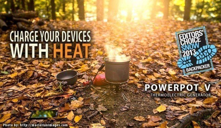 PowerPot: nabijte svůj telefon speciálním kotlíkem!