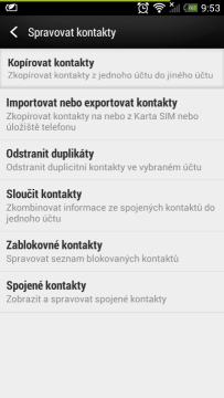 Jak zálohovat kontakty Android