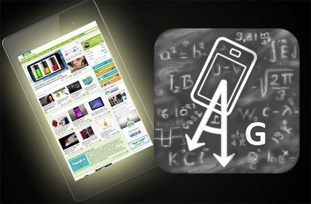 Gravity Screen  udrží podsvícení obrazovky zapnuté, dokud potřebujete pracovat