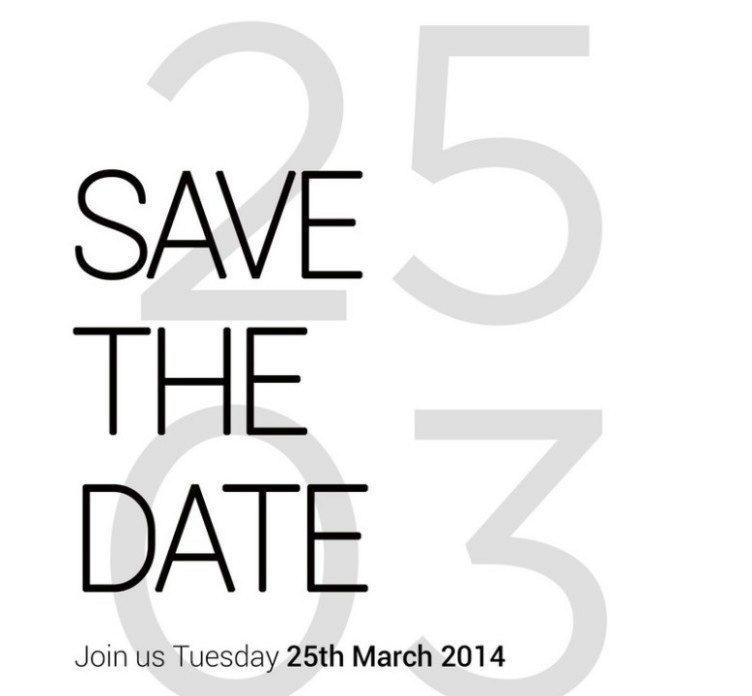 Oficiální pozvánka na akci 25. března