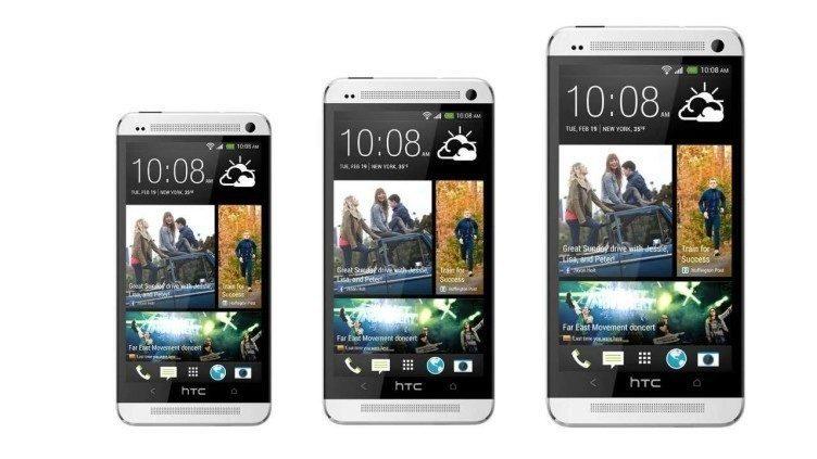 Rodina telefonů HTC One