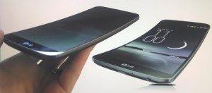 LG G Flex: porovnání reklamního renderu a skutečnosti