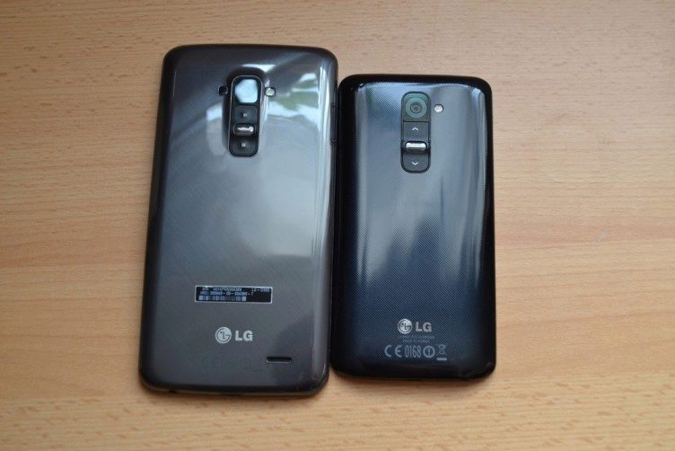 Dva bráškové spolu - LG G Flex a LG G2