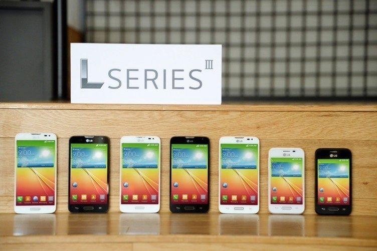 LG představilo třetí generaci telefonů řady L - L90, L70 a L40