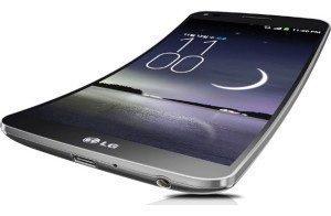 Jeden z propagačních obrázků LG G Flex
