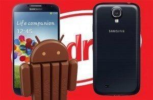 Korejské Samsungy Galaxy S4 dostávají aktualizaci na Android 4.4 KitKat