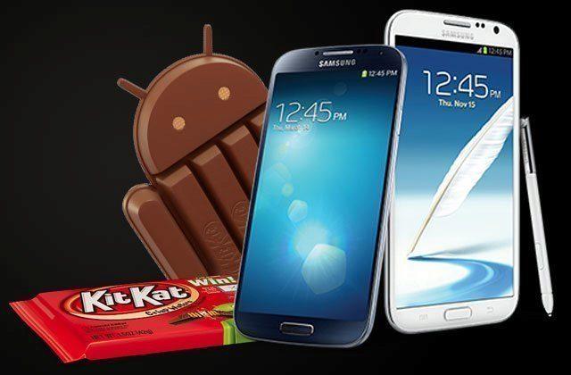 Seznam 16 telefonů a tabletů Samsung, které v Evropě dostanou KitKat