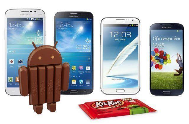 Kdo dostane Android 4.4 KitKat? Samsung vydal oficiální seznam!