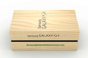 Krabička Samsungu Galaxy S5