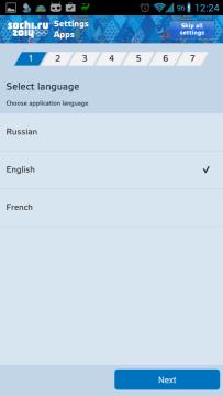Sochi 2014 Results: průvodce nastavením