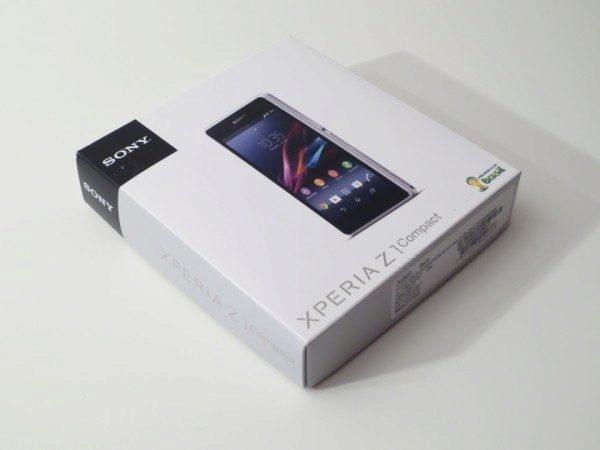 Sony Xperia Z1 Compact - balení