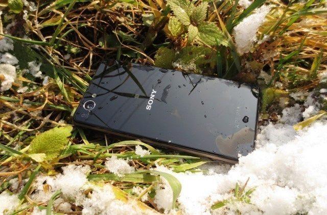 Sony Xperia Z1 Compact – cover tráva