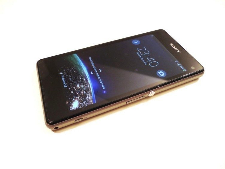 Sony Xperia Z1 Compact -  displej
