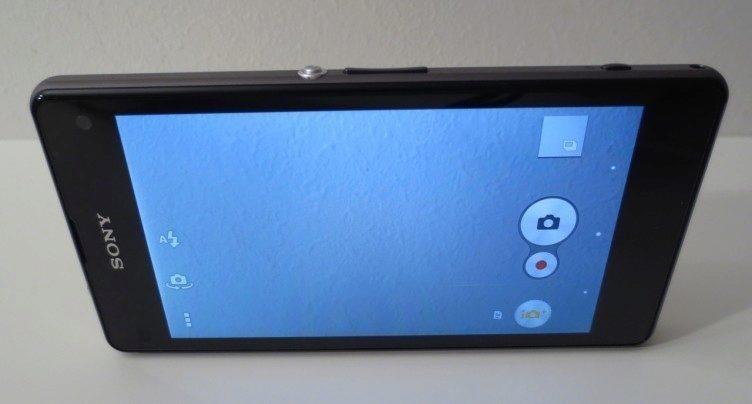 Sony Xperia Z1 Compact - prostředí fotoaparátu