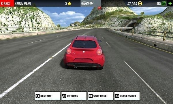 Sony Xperia Z1 Compact Screenshot - GT Racing 2