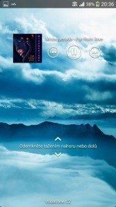 Sony Xperia Z1 Compact Screenshot - Hudební přehrávač (3)