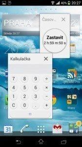 Sony Xperia Z1 Compact Screenshot - miniaplikace (2)
