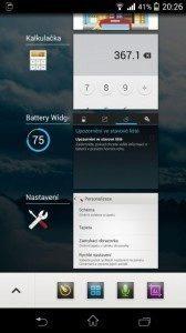 Sony Xperia Z1 Compact Screenshot - multitasking