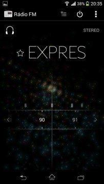 Sony Xperia Z1 Compact Screenshot - Rádio