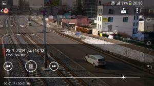 Sony Xperia Z1 Compact Screenshot - Videopřehrávač (1)